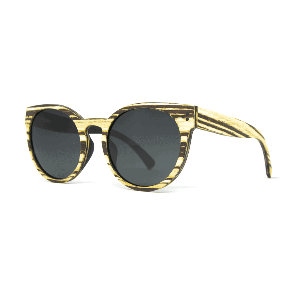Marita White - Wooden Sunglasses | Mr. Woodini
