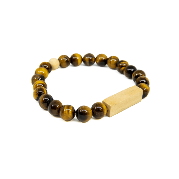 Eye Tiger Wood Bracelet - Mr. Woodini