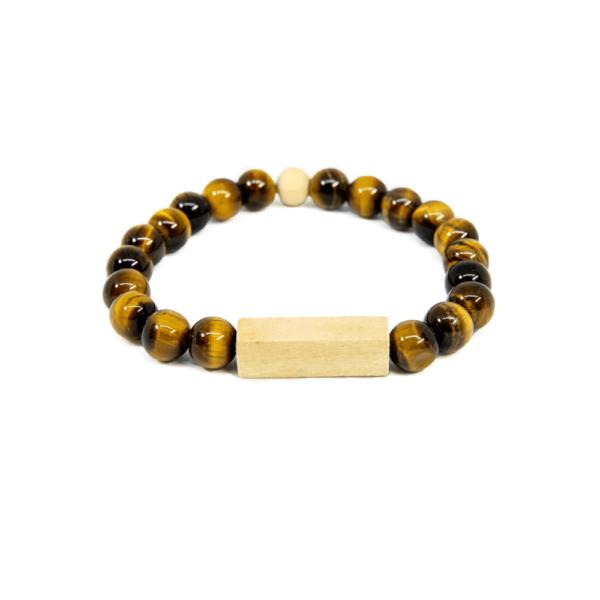 Eye Tiger Wood Bracelet - Mr. Woodini