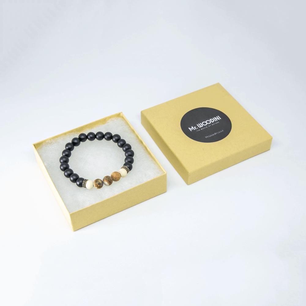 Liroy - Handmade Eco-friendly Bracelet - Mr. Woodini