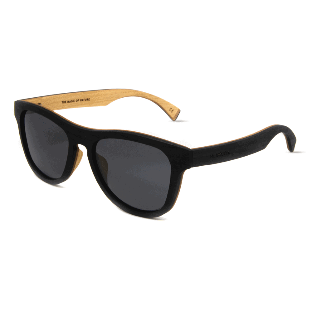 Cobra Black Ebony - Mr. Woodini - Wooden sunglasses