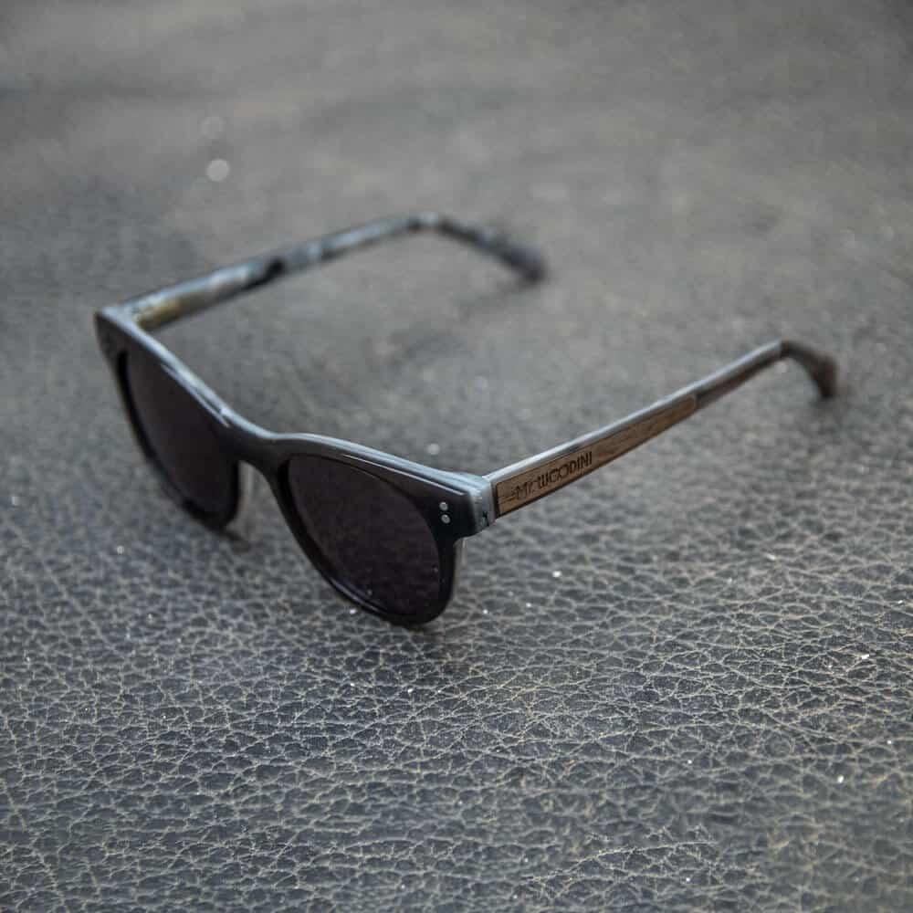 Guru - Wood & Acetate Sunglasses