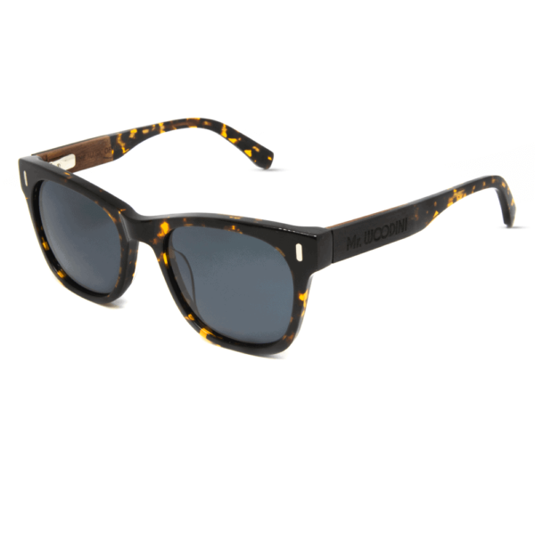 Lava - Wood & Tortoise Acetate Sunglasses - Mr. Woodini Eyewear