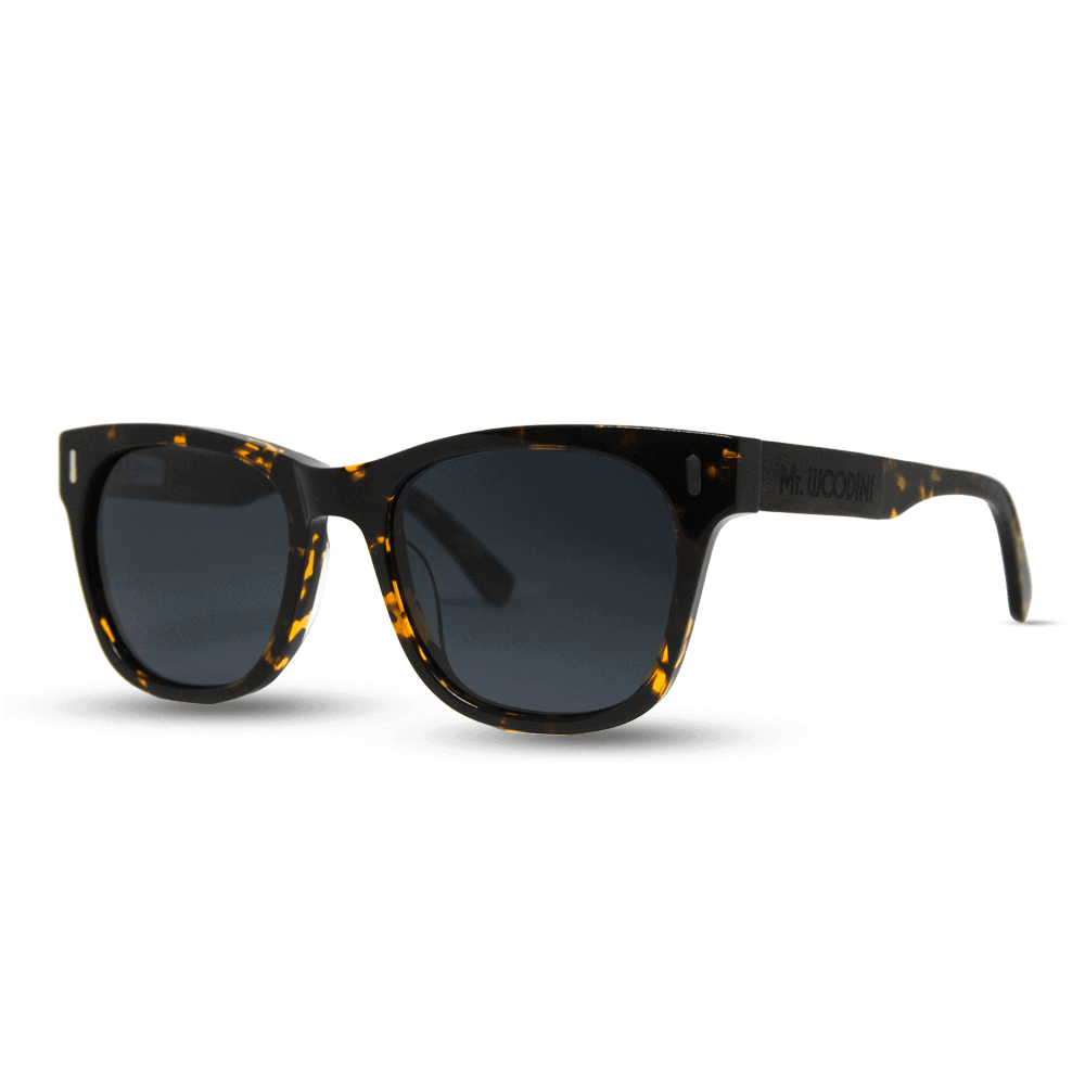 Lava - Wood & Tortoise Acetate Sunglasses - Mr. Woodini Eyewear