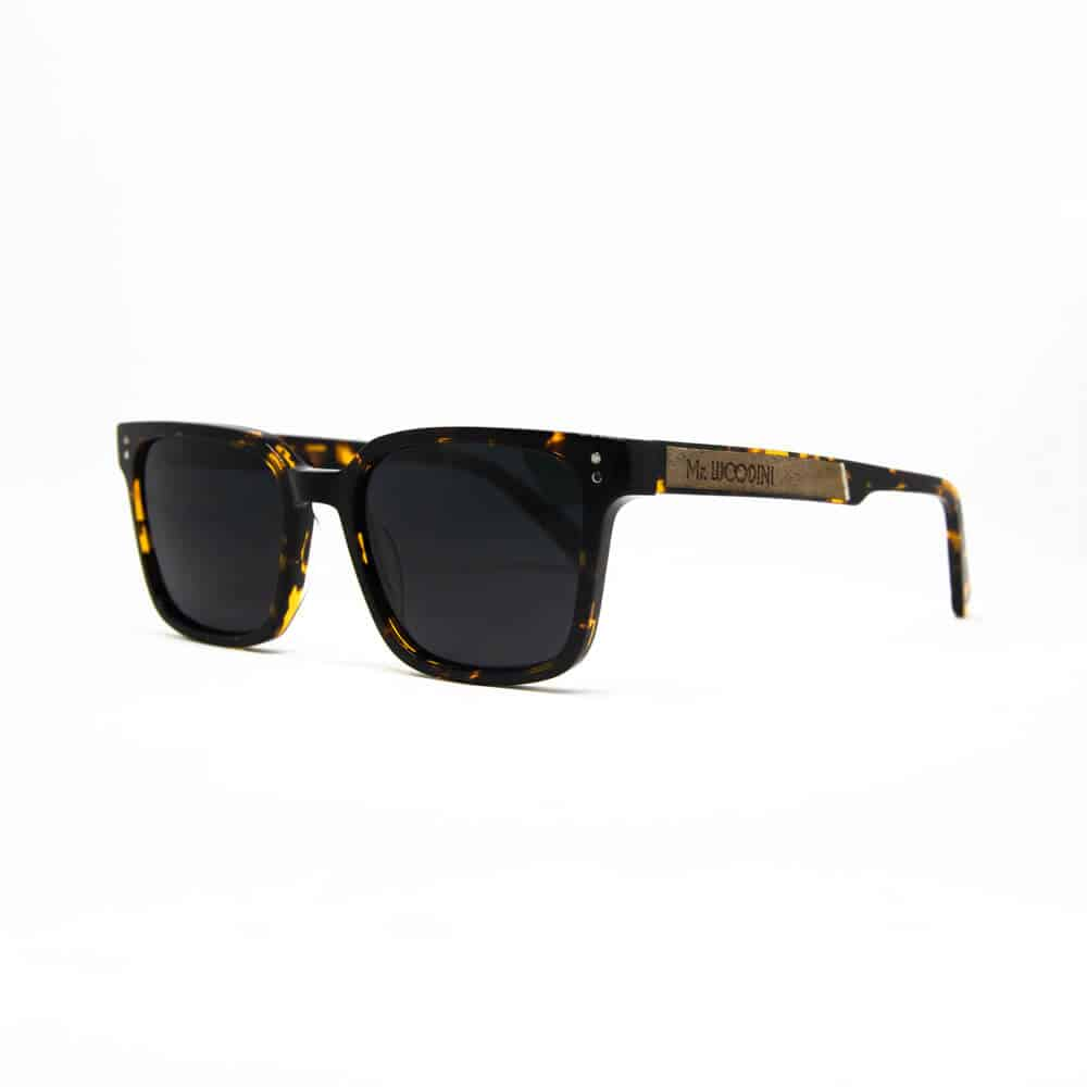 honey - Tortoise Acetate & Wood sunglasses - Mr. Woodini Eyewear
