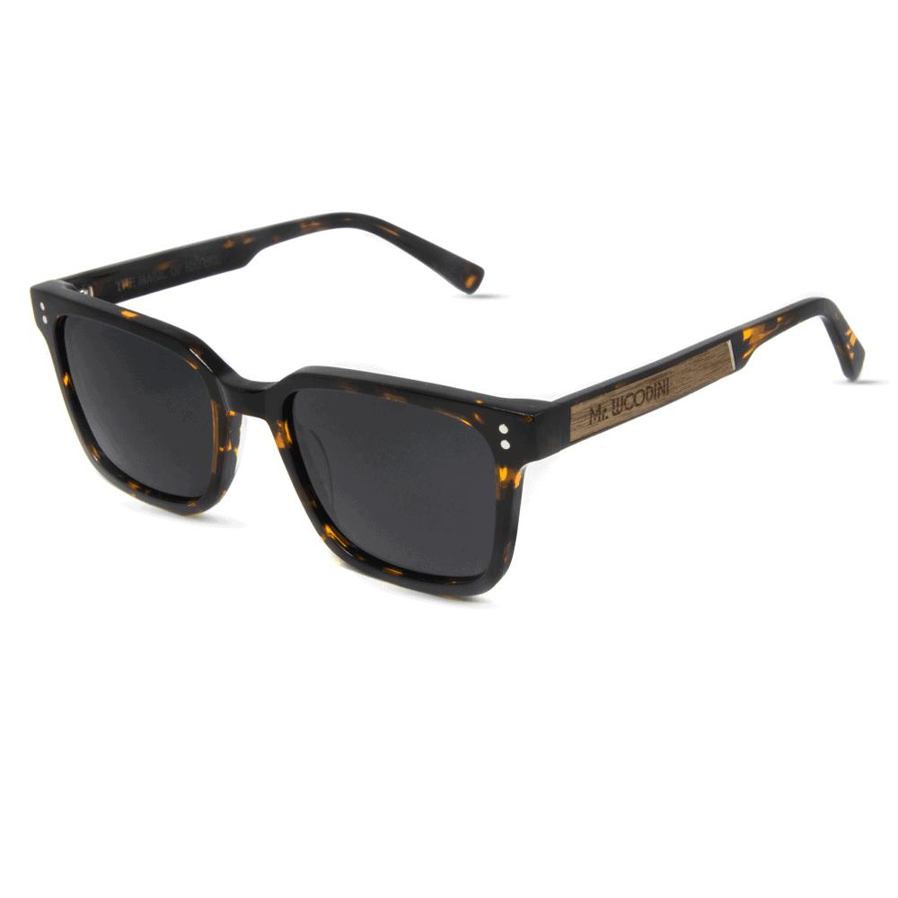 honey - Tortoise Acetate & Wood sunglasses - Mr. Woodini Eyewear