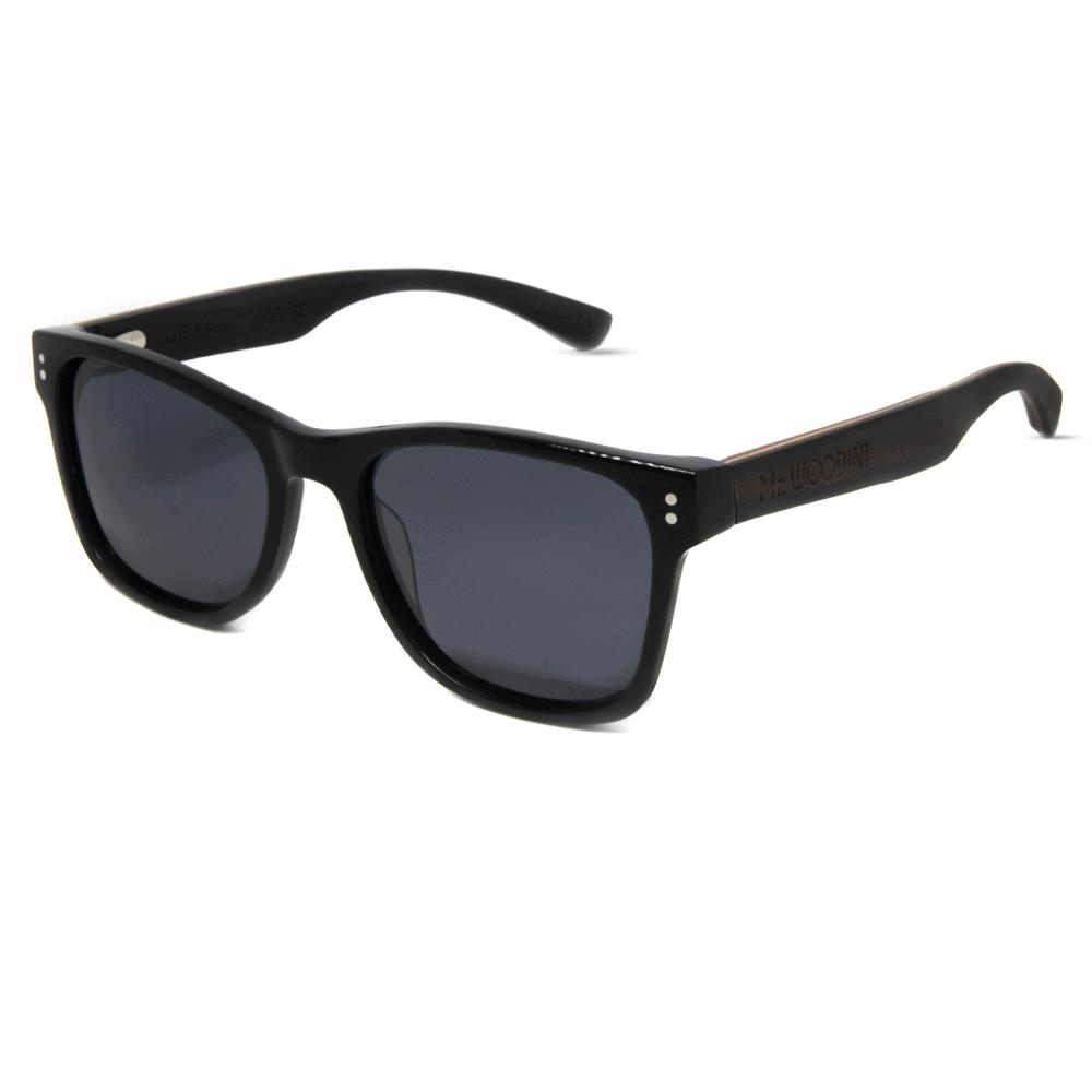 Ora -  acetate and wood sunglasses - Mr. Woodini