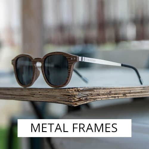 Metal and wood frames