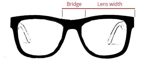 Size Guide Sunglasses frame - Mr. Woodini