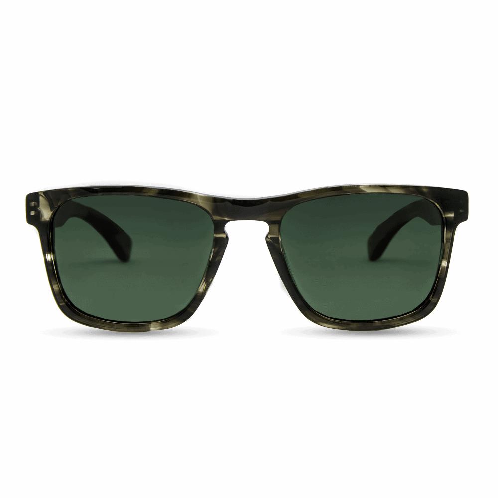 Vulcan Smog Green Sunglasses