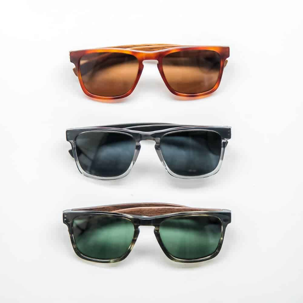 Vulcan Sunglasses + Wood temples