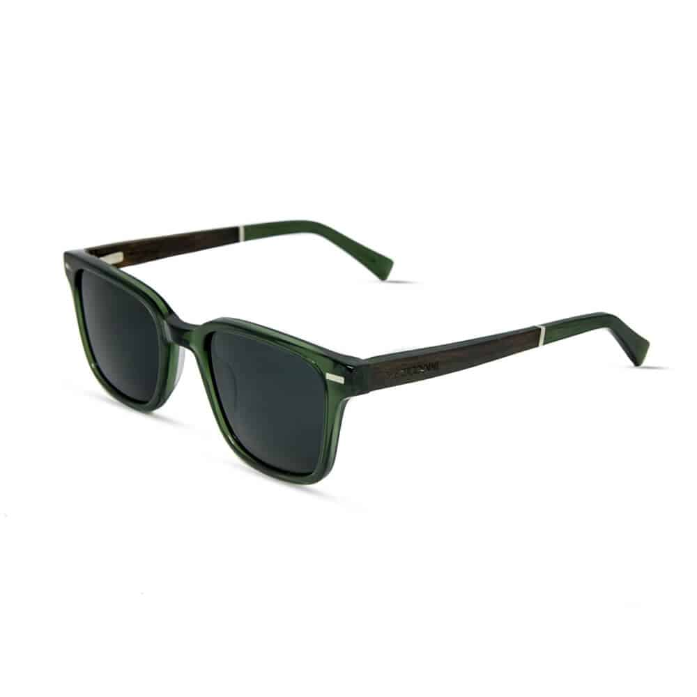 Toxic - Oliver Acetate Sunglasses with wood temples