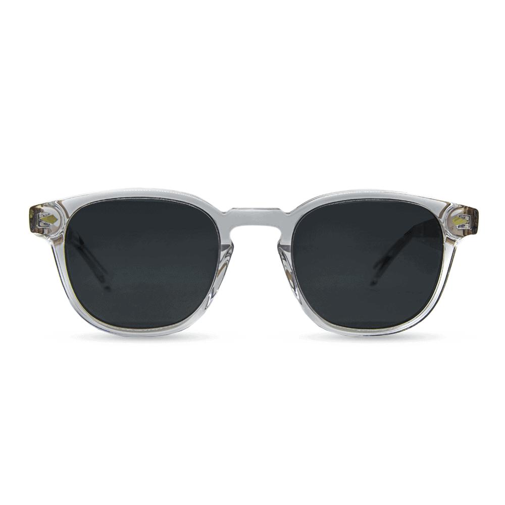 sol - Transparent clear | bio-Acetate sunglasses