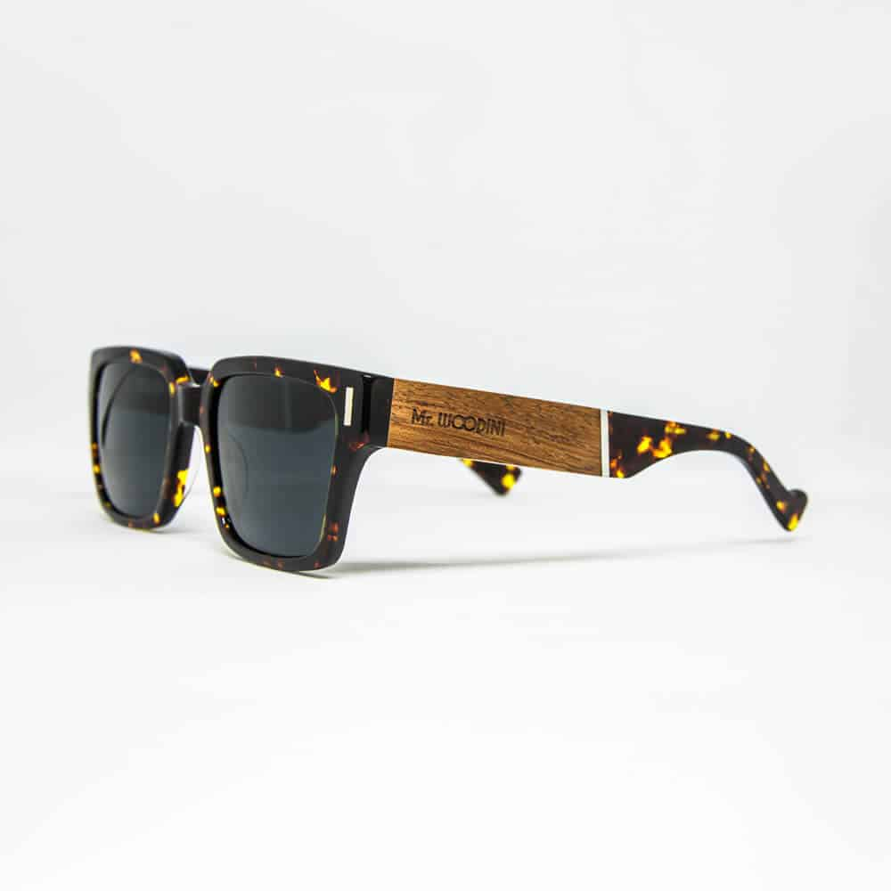 Bolier - acetate and wood sunglasses
